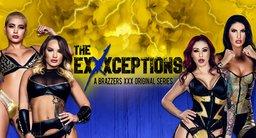 Серия порно со сверхдевушками The Exxxceptions