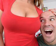 Нежный секс зрелой зрелой блондинки с молодым парнем - 1
