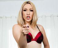 Красивый анальный секс стройной блондинки в чулках с парнем - 1