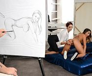 Смотреть страстный лесбийский секс с сексуальной татуированной блондинкой - 1