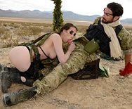 Порно пародия Metal Gear Solid 5 с анальной еблей - 3