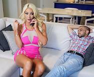 Порно жопастой сексуальной блондинки с лучшим другом хахаля - 1