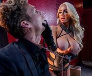 БДСм порно с горячей сексуальной блондинкой нимфоманкой - 3