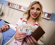 Трах в пизду с шикарной медсестрой в униформе - 1