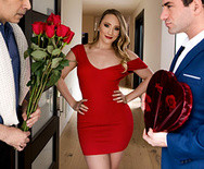 Страстный анал роскошной дамочки с любовником - 1