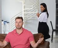 Порно измена грудастой аппетитной красотки с другом мужа - 1