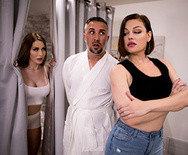 Порно измена самца с аппетитная пошлой массажисткой - 1