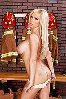 Страстный секс со стройной сексуальной блондинкой с большими сиськами #2