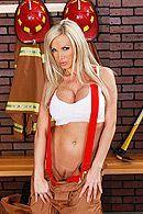 Страстный секс со стройной сексуальной блондинкой с большими сиськами #3
