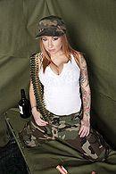 Смотреть порно солдата с красивой рыженькой сучкой #3