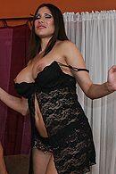 Смотреть красивый секс с выразительной брюнеткой с большими сиськами #5