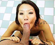 Красивый секс с молодой азиаткой с большими сиськами - 2