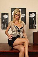 Трах в пизду с красивой секретаршей с большими сиськами #1