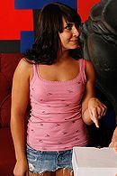 Вагинальный секс с черноволосой грудастой телкой #5