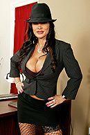 Смотреть порно грудастой зрелой начальницы на длинном пенисе #1