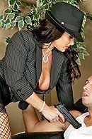 Смотреть порно грудастой зрелой начальницы на длинном пенисе #5