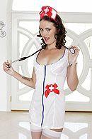 Смотреть секс пациента с жопастой медсестрой в чулках #1