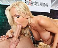 Жесткий секс красивой блондинки с обвисшими сиськами - 2