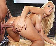 Жесткий секс красивой блондинки с обвисшими сиськами - 3