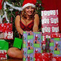 Вагинальный секс с зрелой темноволосой сучкой в Рождество