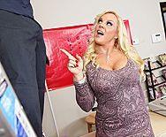 Смотреть анальный секс со зрелой блондинкой с большой попой - 1