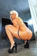 Изматывающий анал с опытной блондинкой в огромный зад #4