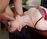 Классический секс с красивой зрелой начальницей с огромной задницей - 2