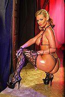 Анальный секс светловолосой красотки с большой задницей #2