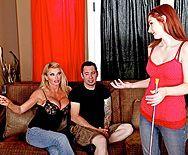 Красивый секс зрелой блондинки с большими сиськами - 1