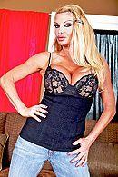 Красивый секс зрелой блондинки с большими сиськами #1