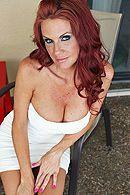 Вагинальный секс с сексуальной грудастой женщиной с рыжими волосами #1
