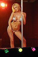 Грудастая стриптизерша блондинка занимается сексом с клиентом #5
