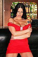Жесткий секс горячей брюнетки с большой попой #1