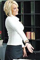 Смотреть трах в пизду блондинки с большими сисечками #5