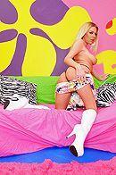Анальный секс в общежитии с молоденькой милой блондинкой #4