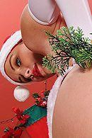 Анальный секс с красоткой в рождественской униформе #2