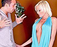 Смотреть жаркий секс со зрелой стройной блондинкой - 1