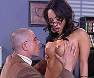 Страстный анальный трах учителя с сексуальной азиаткой - 1