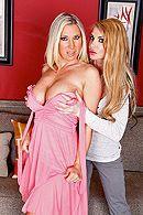 Анальный секс с грудастыми зрелыми блондинками #1