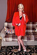 Анальный трах зрелой блонды с большими сиськами #1
