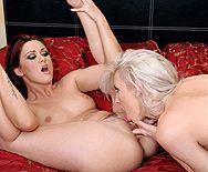 Смотреть классный лесбийский секс молоденькой брюнетки и её стройной мачехи - 5