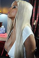 Красивое порно с красивой блондинкой с огромными сиськами #5