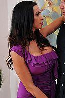 Смотреть страстный секс лысого с красоткой в эротическом белье и чулках #5