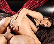 Смотреть нежный секс со страстной зрелой красоткой - 4