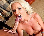 Домашний секс с красивой сочной блондинкой - 2