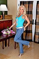 Домашний секс с красивой сочной блондинкой #1