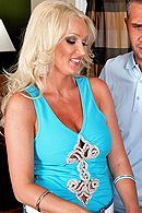 Домашний секс с красивой сочной блондинкой #5