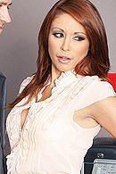 Секс начальника с рыженькой проституткой в офисе #5