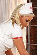 Красивый анальный секс сексуальной медсестры с рабочим парнем #5