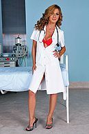Анальный секс пациента с сексуальной медсестрой в палате #1